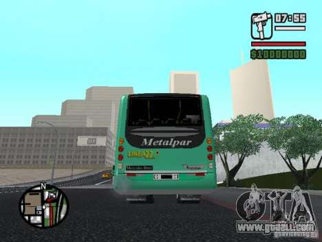 Metalpar 22 for GTA San Andreas back left view