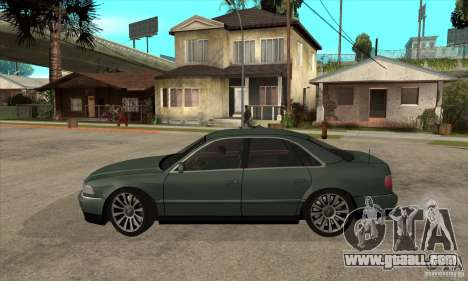 Audi A8 Long 6.0 2000 for GTA San Andreas left view