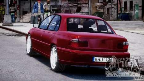 Opel Omega 1996 V2.0 First Public for GTA 4 back left view