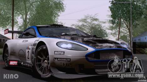 Aston Martin Racing DBRS9 GT3 for GTA San Andreas upper view