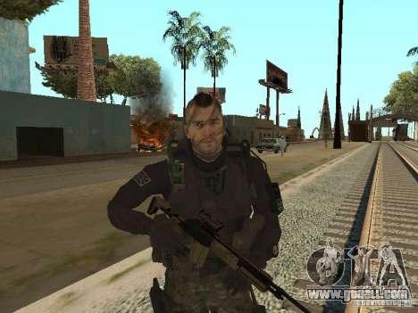 Captain MacTavish for GTA San Andreas