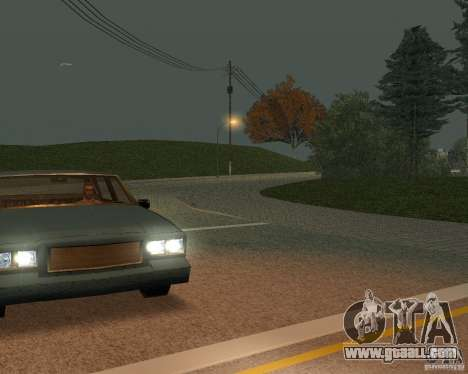 New roads in San Fierro for GTA San Andreas sixth screenshot