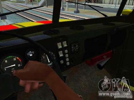 Ural 4320 GORSVET for GTA San Andreas side view