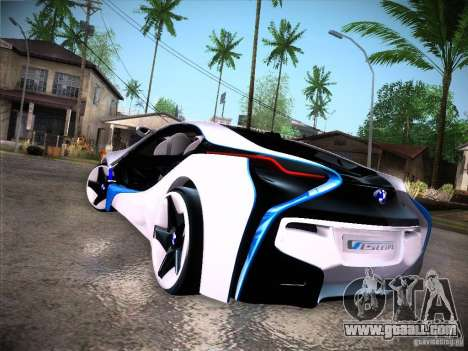 BMW Vision Efficient Dynamics I8 for GTA San Andreas right view