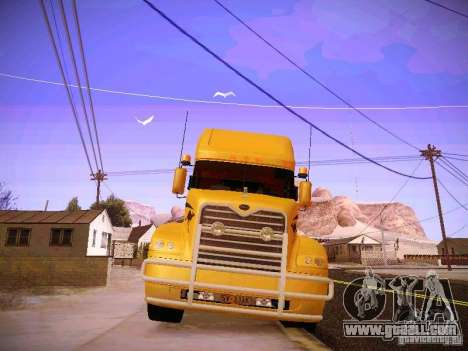 Mack Vision for GTA San Andreas inner view