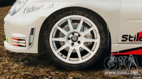 Subaru Impreza WRX STI N12 for GTA 4 inner view