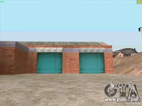 New garage in Doherty for GTA San Andreas third screenshot