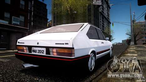 Volkswagen Passat Pointer GTS 1988 Turbo for GTA 4 left view