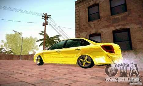 Lada Grant GOLD for GTA San Andreas left view