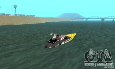 Cesa Offshore for GTA San Andreas left view