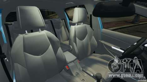 Peugeot 308 GTi 2011 v1.1 for GTA 4 inner view