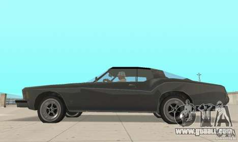 Buick Riviera 1973 for GTA San Andreas back left view