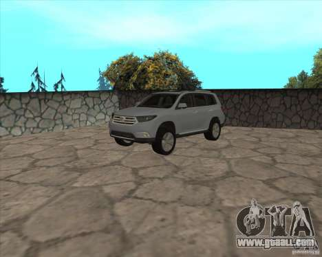 Toyota Highlander for GTA San Andreas