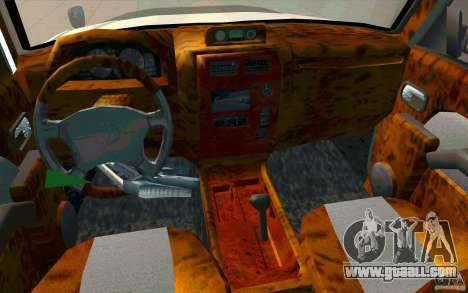 Toyota Land Cruiser Prado for GTA San Andreas upper view