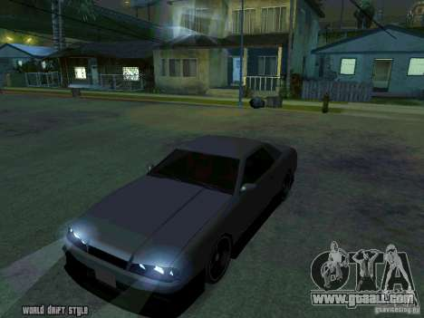 ELEGY BY CREDDY for GTA San Andreas right view