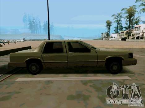 A Short Limousine for GTA San Andreas back view