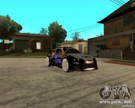 Mitsubishi Eclipse RZ 1998 for GTA San Andreas right view