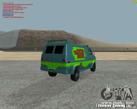 GMC Van 1983 for GTA San Andreas right view
