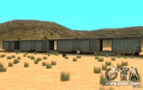 San Andreas Beta Train Mod for GTA San Andreas back left view