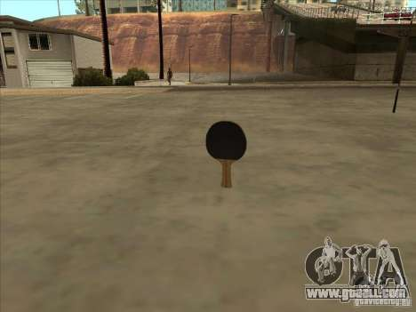 Tennis racquet for GTA San Andreas third screenshot
