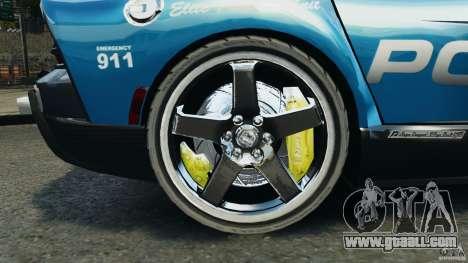 Dodge Viper SRT-10 ACR ELITE POLICE for GTA 4 back view