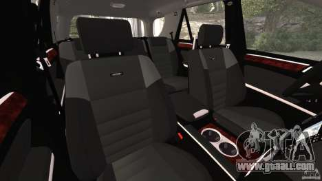 Mercedes-Benz ML63 AMG Brabus for GTA 4 inner view