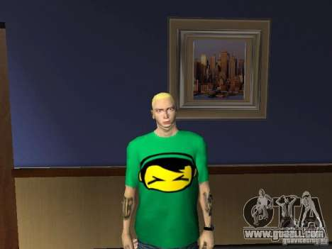 Skin Eminema for GTA San Andreas sixth screenshot