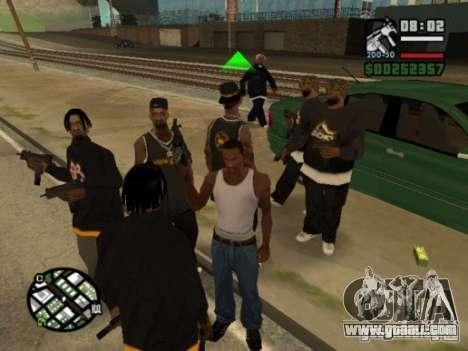 Call of Homies for GTA San Andreas
