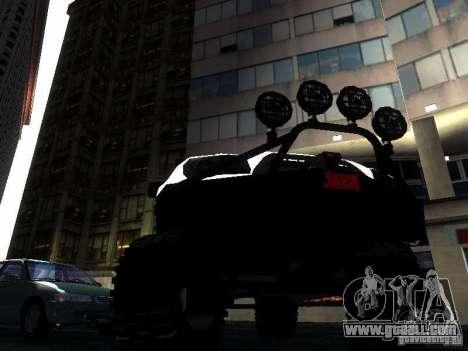 Toyota 4Runner 4X4 for GTA San Andreas inner view