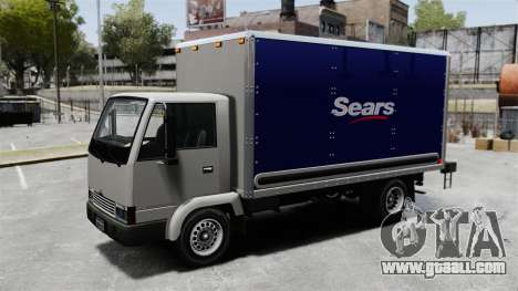New ads for the truck, Mule for GTA 4 back left view
