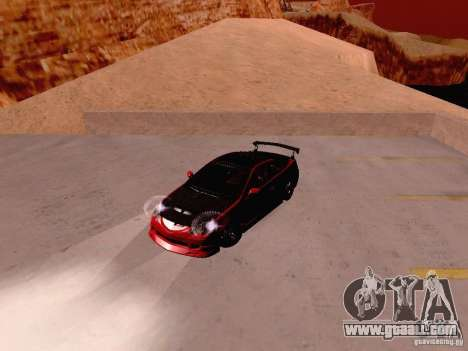 Acura RSX Drift for GTA San Andreas back view