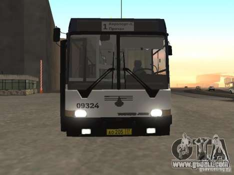 Buses 6222 for GTA San Andreas back left view