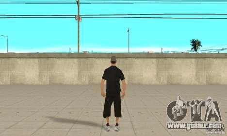 David Blane Skin for GTA San Andreas third screenshot