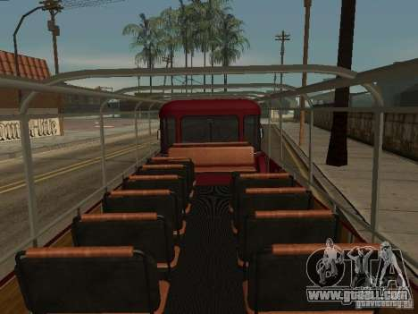 LIAZ 677 Excursion for GTA San Andreas inner view