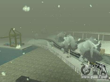 Snow v 2.0 for GTA San Andreas eighth screenshot