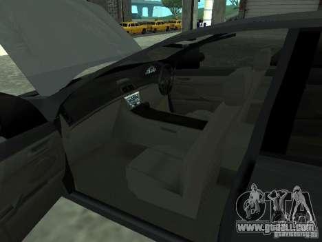 Holden Calais for GTA San Andreas back left view