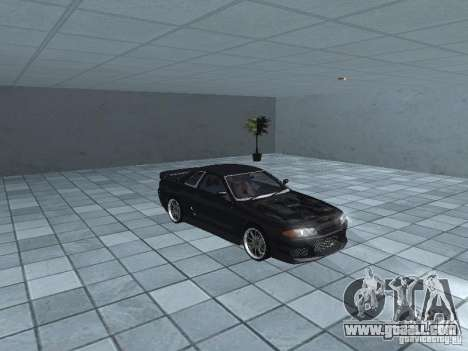 Nissan Skyline R32 Tuned for GTA San Andreas inner view