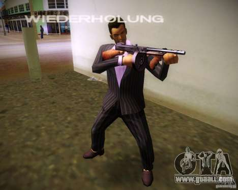 Thompson Model 1928 for GTA Vice City third screenshot