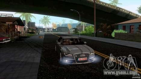 Audi S8 2012 for GTA San Andreas