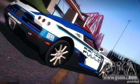 Koenigsegg CCX Police for GTA San Andreas upper view