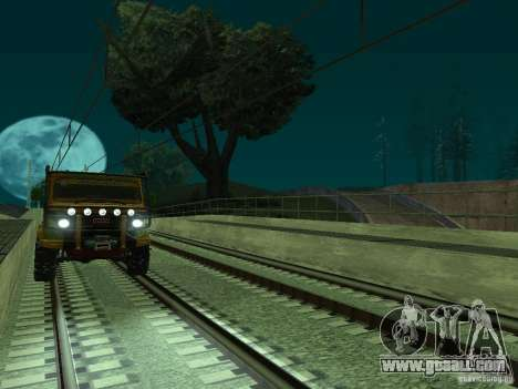 High speed RAILWAY line for GTA San Andreas eighth screenshot