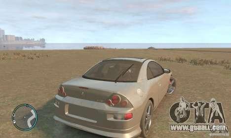 Mitsubishi Eclipse Spyder for GTA 4 right view