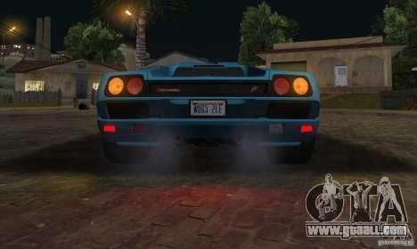 Lamborghini Diablo SV V1.0 for GTA San Andreas side view