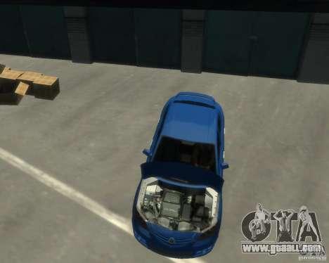 Mazda 3 sedan 2008 for GTA 4 right view