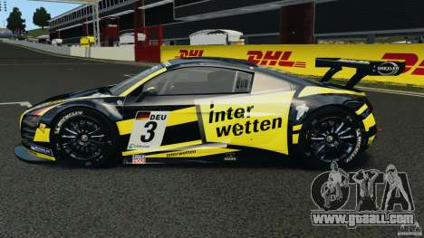 Audi R8 LMS for GTA 4 left view