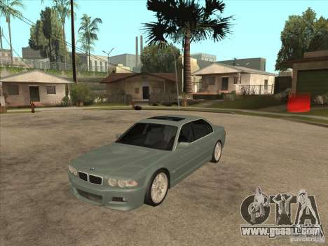 BMW E38 M7 for GTA San Andreas