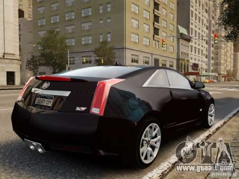 Cadillac CTS-V Coupe 2011 for GTA 4 left view