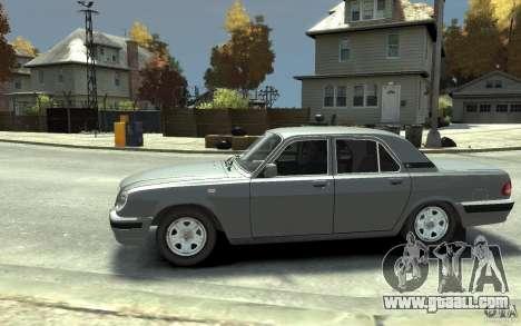 GAZ Volga 31105 for GTA 4 left view