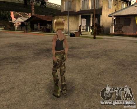 New gangrl3 for GTA San Andreas second screenshot