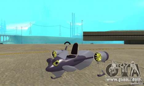 Flying Fish for GTA San Andreas